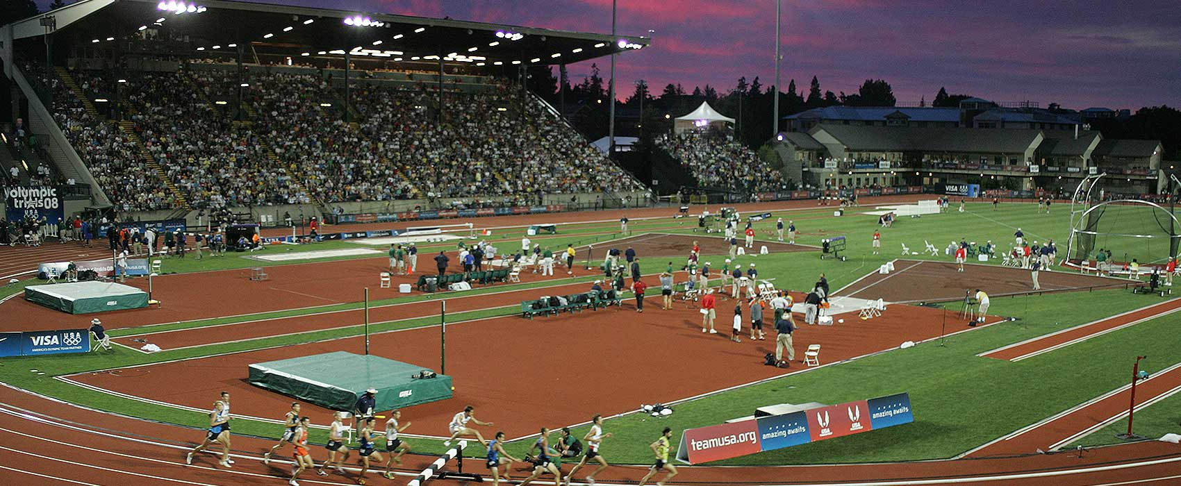 GoDuckscom The University Of Oregon Official Athletics - Us track and field map my run