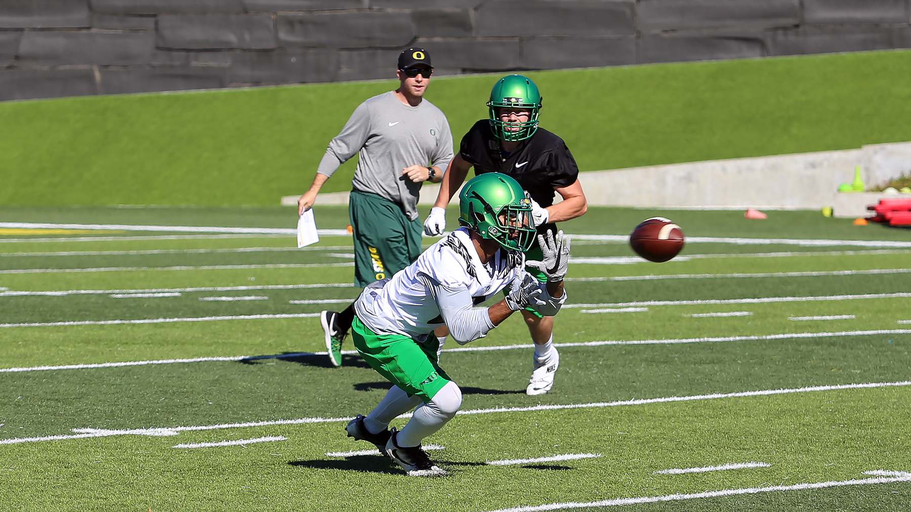 Football Practice Report: Sept. 26